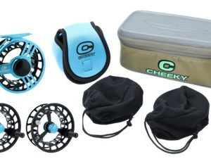 Cheeky Launch Triple Play Fly Reel Package
