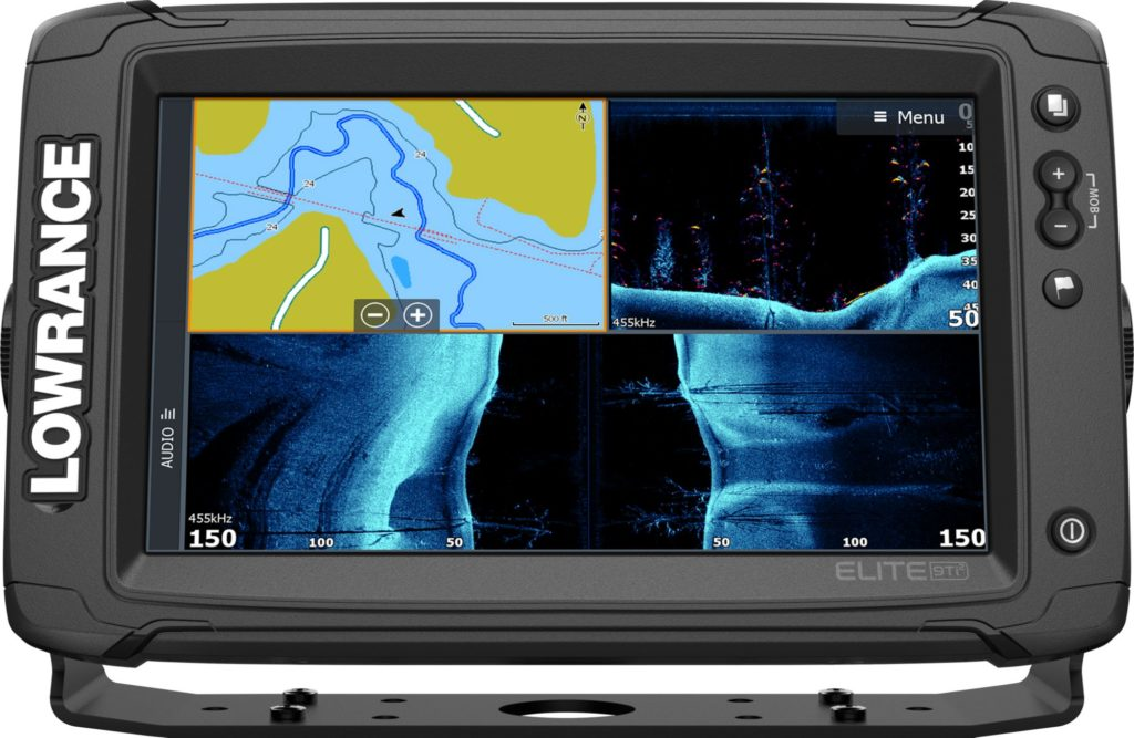 Lowrance Elite-9 Ti2 GPS Fish Finder with Active Imaging (000-14648-001)