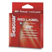 Seaguar Red Label 100% Fluorocarbon Fishing Line, 200 yards