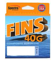 Fins 40G Composite Superline Braided Fishing Line – FNS40G-5-150-WH