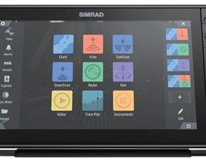 Simrad NSS evo3S Fish Finder/Chartplotter with C-MAP US Enhanced Charts – 16″