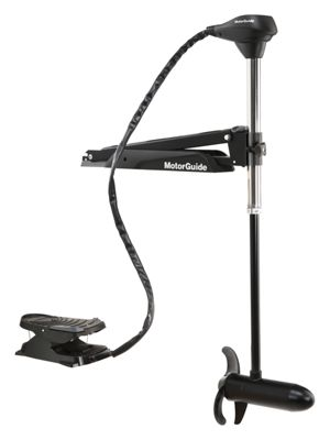 """MotorGuide X3 Freshwater Foot Control Bow Mount Trolling Motor – 55 lbs./45"""""""