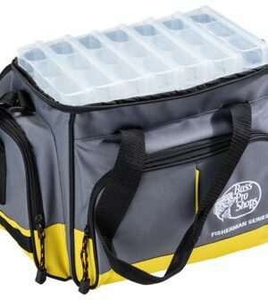 Bass Pro Shops Deluxe Fisherman Series Tackle Bag