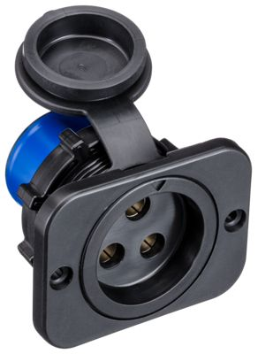 Marinco 70A 3-Wire Trolling Motor Plug or Receptacle