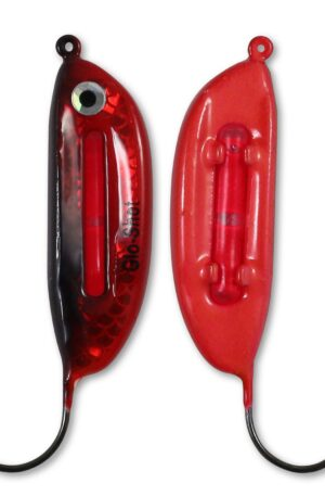 Northland Glo-Shot Jigs Color Super-Glo Redfish Weight 3/8 oz