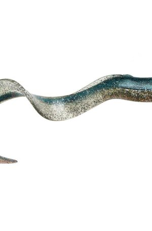 Savage Gear Real Eel Soft Bait Blue Silver; 8 in.